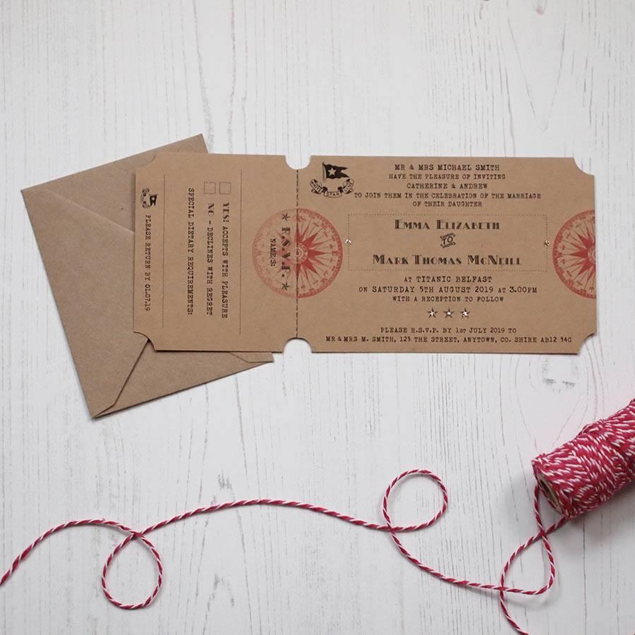Wedding Stationery By Arbee Belfast