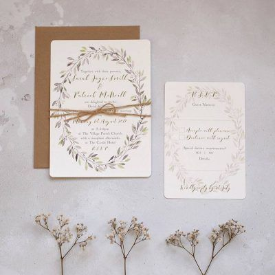 Wedding Stationery by Arbee Belfast