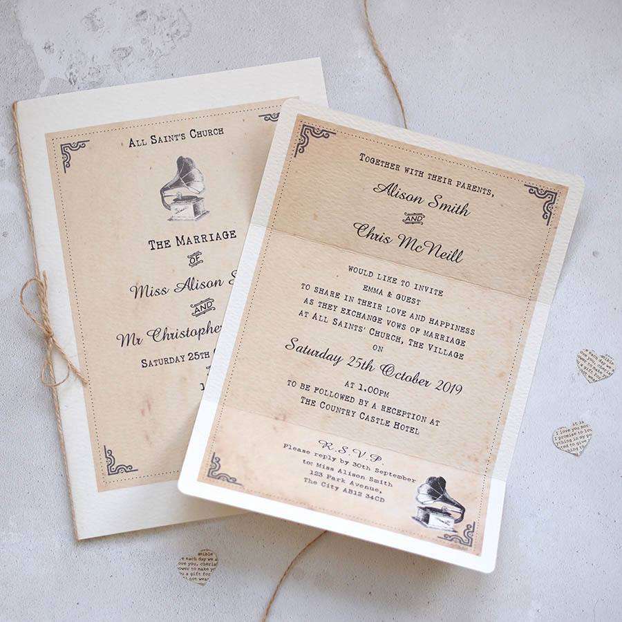 Handmade Wedding Stationery by Arbee Cards N Ireland